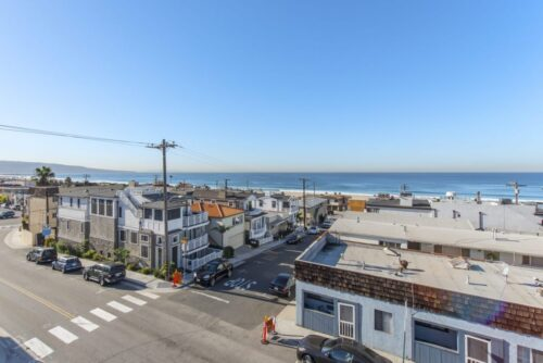 Hermosa Beach ocean views